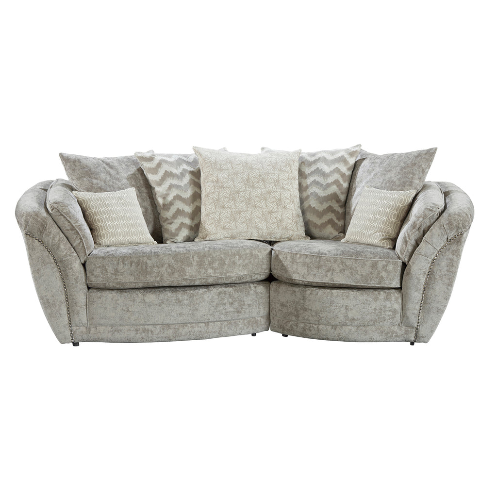 Isabelle Left Hand Cosy Cuddle Sofa Cuddle Sofas- KC Sofas