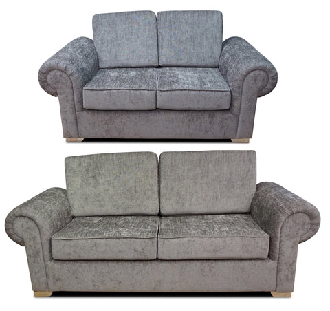 Angelica 3 Seater & 2 Seater Formal Back Sofa Set Sofa Sets- KC Sofas