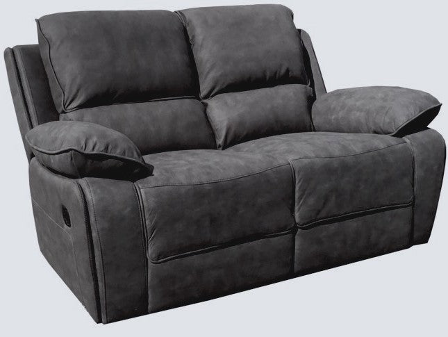 Maple 2 Seater Manual Reclining Sofa