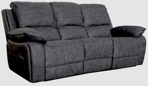 Maple 3 Seater Manual Reclining Sofa