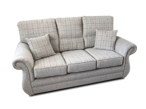 Washington 3 Seater Formal Back Sofa 3 Seater Sofas- KC Sofas