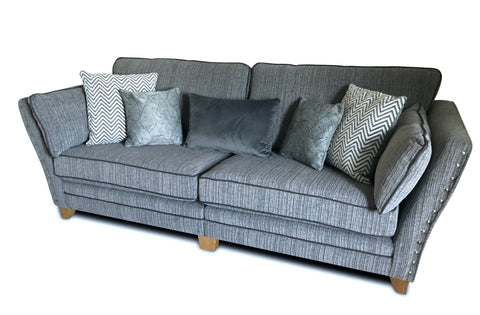 Athena 4 Seater Formal Back Sofa 4 Seater Sofas- KC Sofas