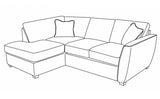 Oslo (LFC,R2) Left Hand Facing Chaise Sofa