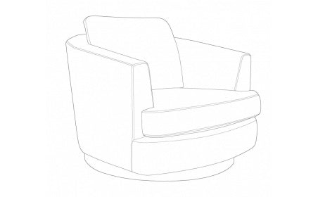 Blaise Bond Swivel Chair