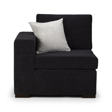 Abbott Left Hand Arm Modular Sofa Section Modular Sofa Section- KC Sofas