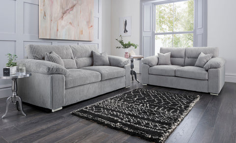 Amalfi 3 Seater & 2 Seater Sofa Set