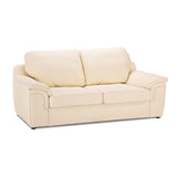 Anne 3 Seater Faux Leather Sofa 3 Seater Sofas- KC Sofas