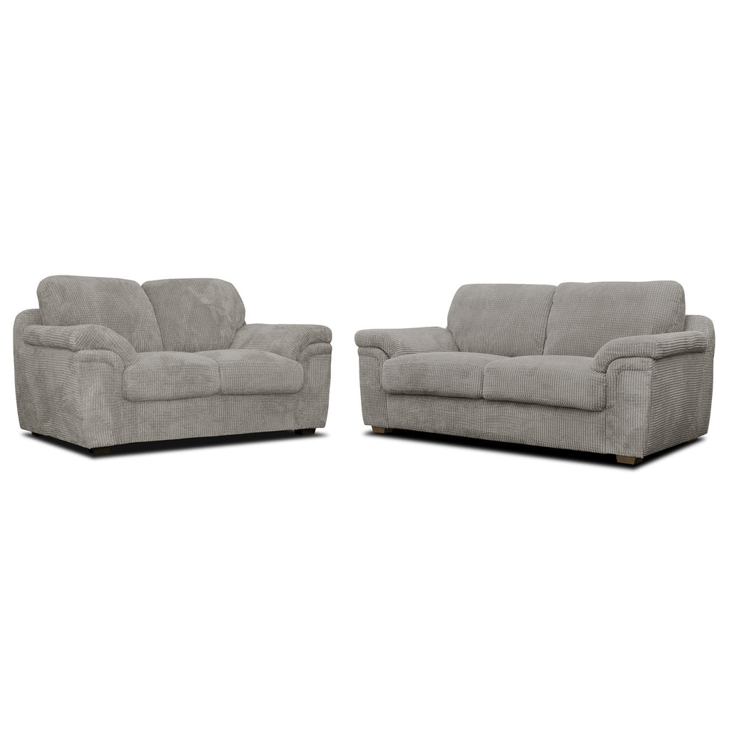 Anne 3 Seater & 2 Seater Fabric Sofa Set Sofa Sets- KC Sofas