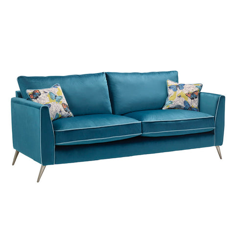 Bennett 3 Seater Formal Back Sofa 3 Seater Sofas- KC Sofas