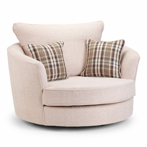 Flamenco Swivel Chair Swivel Chairs- KC Sofas