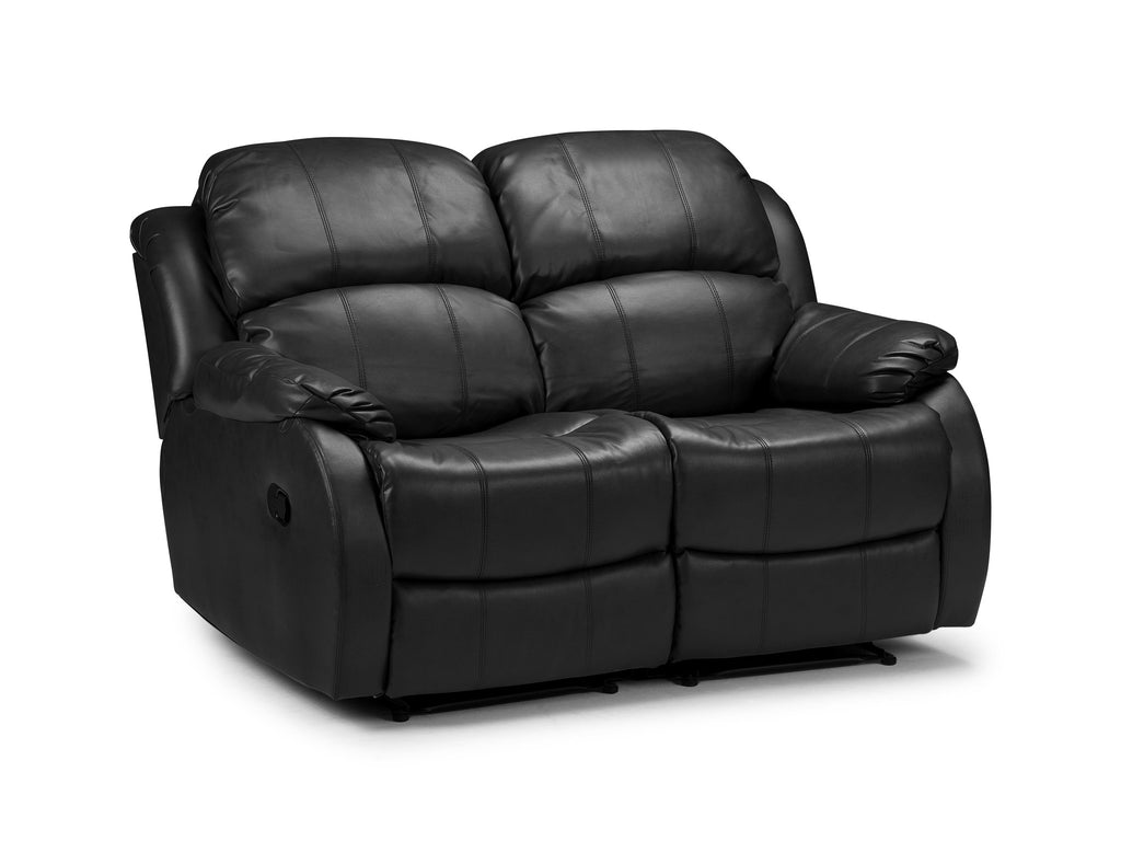 Valetta 2 seater electric reclining bonded leather sofa for Leather sofa 7 seater