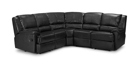 Valetta Electric Reclining Bonded Leather Corner Sofa