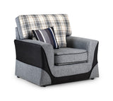 Casablanca Tartan Chair Chairs- KC Sofas