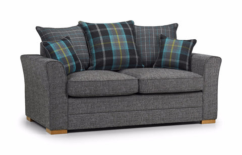 Chilli 2 Seater Pillow Back Sofa 2 Seater Sofas- KC Sofas