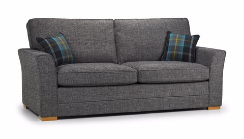 Chilli 3 Seater Formal Back Sofa 3 Seater Sofas- KC Sofas