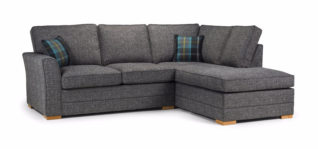 Chilli Right Hand Formal Back Corner Sofa Corner Sofas- KC Sofas