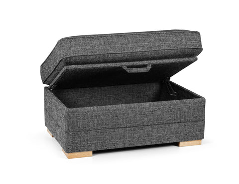 Chilli Storage Footstool Footstools- KC Sofas