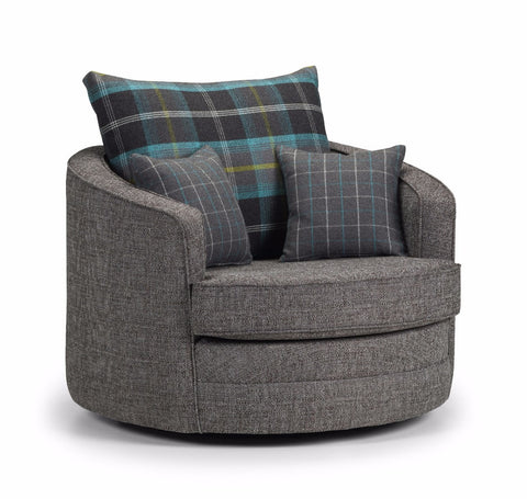 Chilli Swivel Chair Swivel Chairs- KC Sofas