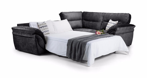 Khloe Right Hand Corner Sofa Bed Sofa Beds- KC Sofas