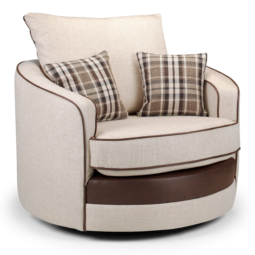 Casablanca Medium Swivel Chair Swivel Chairs- KC Sofas