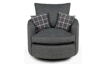 Lucy Twister Chair Swivel Chairs- KC Sofas