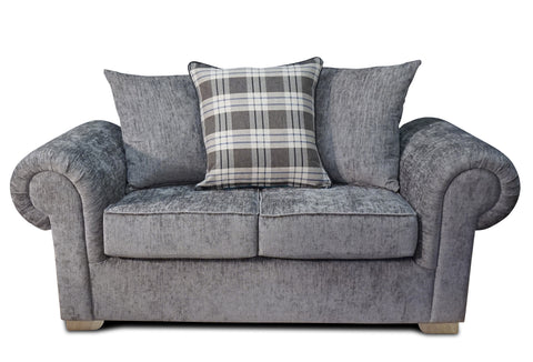 Angelica 2 Seater Pillow Back Sofa 2 Seater Sofas- KC Sofas