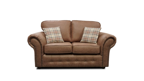 Highlander 2 Seater Formal Back Sofa 2 Seater Sofas- KC Sofas
