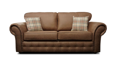 Highlander 3 Seater Formal Back Sofa 3 Seater Sofas- KC Sofas
