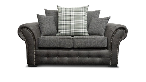 Highlander 2 Seater Pillow Back Sofa 2 Seater Sofas- KC Sofas