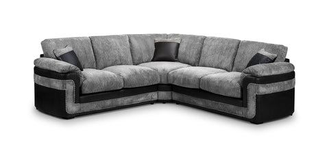 Dakota Large Corner Sofa Corner Sofas- KC Sofas
