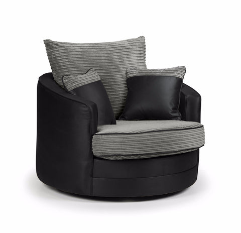 Dakota Swivel Chair Swivel Chairs- KC Sofas