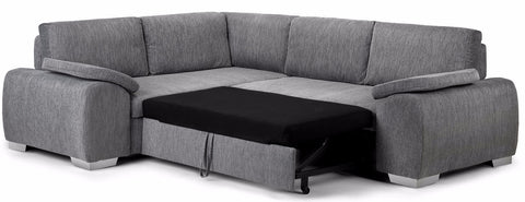 Enzo Left Hand Fabric Corner Sofa Bed – KC Sofas