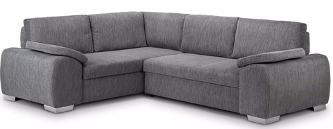 Enzo Left Hand Fabric Corner Sofa Bed Sofa Beds- KC Sofas