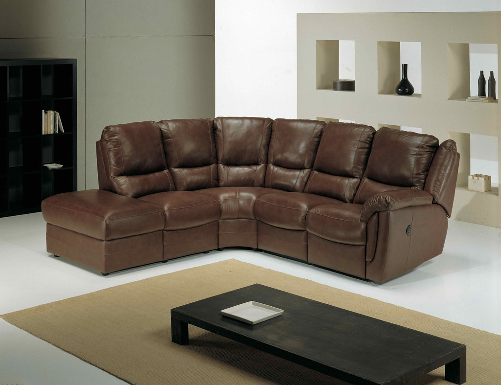 Fedra Left Hand 1 Arm Corner Sofa With Footstool Corner Sofas- KC Sofas