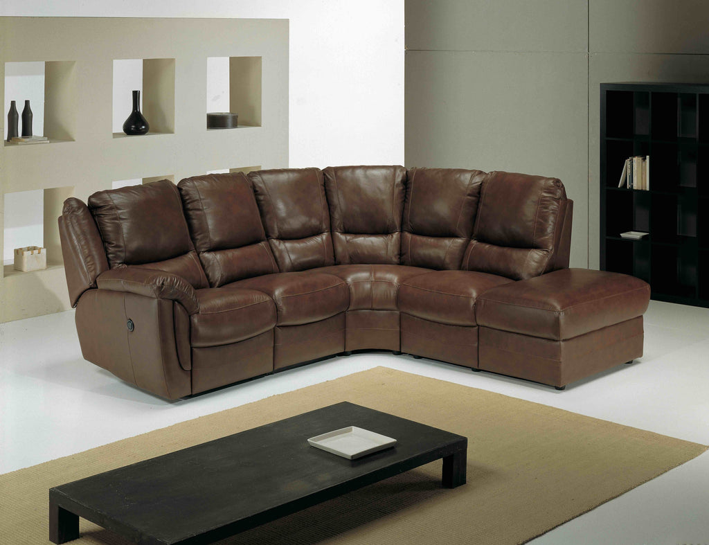 Fedra Right Hand 1 Arm Corner Sofa With Footstool Corner Sofas- KC Sofas