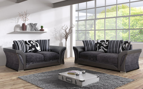 Shannon 3 Seater & 2 Seater Sofa Set