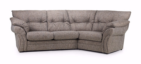 "Miami Right Hand ""Snuggle"" Angled Sofa Cuddle Sofas- KC Sofas"