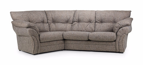 "Miami Left Hand ""Snuggle"" Angled Sofa Cuddle Sofas- KC Sofas"