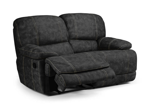 Glamorgan Manual 2 Seater Reclining Sofa 2 Seater Sofas- KC Sofas