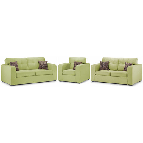 Cologne 3 Seater, 2 Seater & Chair Sofa Set Sofa Sets- KC Sofas