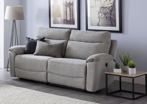 Hampton 3 Seater Electric Reclining Sofa