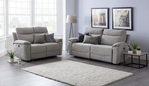 Hampton 3 Seater & 2 Seater Electric Reclining Sofa Set