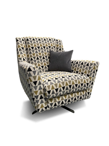 Vegas Swivel Accent Chair Chairs- KC Sofas