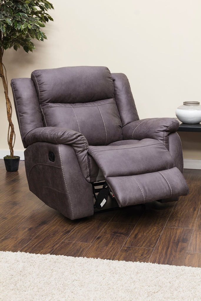 Walton Manual Reclining Chair Chairs- KC Sofas