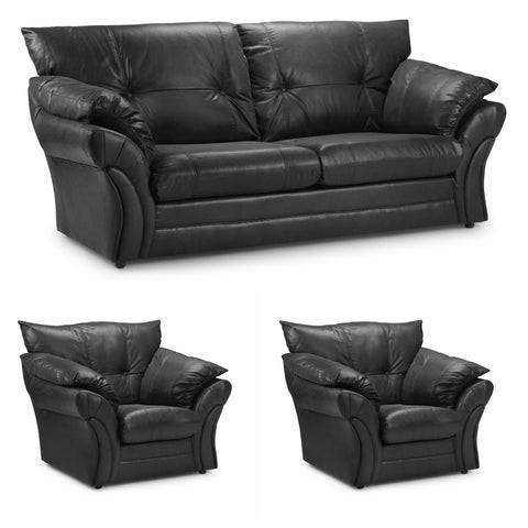 Florida 3 Seater & 2 Chairs Sofa Set Sofa Sets- KC Sofas