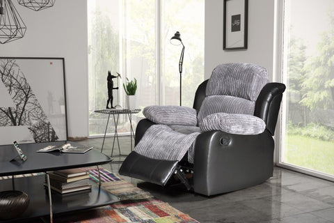 Valetta Manual Reclining Fabric Chair