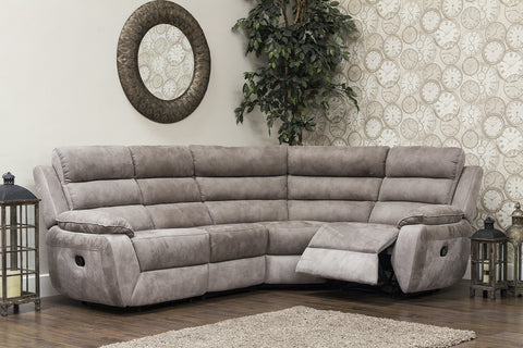 Urban 2C1/Right Hand Manual Reclining Corner Sofa Corner Sofas- KC Sofas