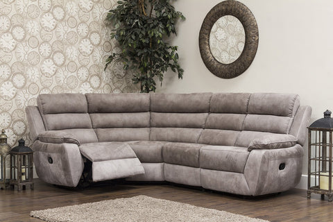 Urban 1C2/Left Hand Manual Reclining Corner Sofa Corner Sofas- KC Sofas