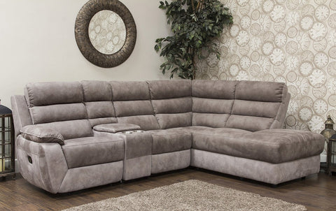 Urban Right Hand Manual Reclining Corner Chaise Sofa Corner Sofas- KC Sofas
