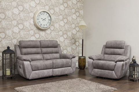Urban 2 Seater & Chair Manual Reclining Sofa Set Sofa Sets- KC Sofas